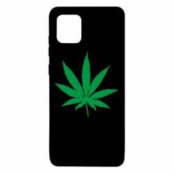 Чохол для Samsung Note 10 Lite Листочок марихуани