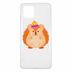 Чохол для Samsung Note 10 Lite Little hedgehog in a hat