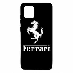 Чехол для Samsung Note 10 Lite логотип Ferrari