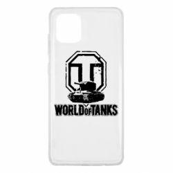 Чохол для Samsung Note 10 Lite Логотип World Of Tanks