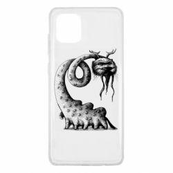 Чехол для Samsung Note 10 Lite Long-necked Mustachioed Monster
