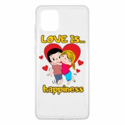 Чохол для Samsung Note 10 Lite love is...happyness