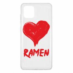 Чохол для Samsung Note 10 Lite Love ramen