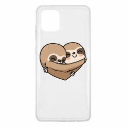 Чохол для Samsung Note 10 Lite Love sloths
