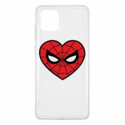 Чохол для Samsung Note 10 Lite Love spider man