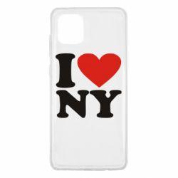 Чохол для Samsung Note 10 Lite Люблю Нью Йорк