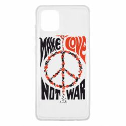 Чохол для Samsung Note 10 Lite Make love, not war