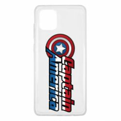 Чохол для Samsung Note 10 Lite Marvel Captain America