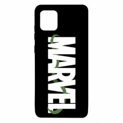 Чехол для Samsung Note 10 Lite Marvel logo and vine