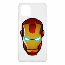 Чехол для Samsung Note 10 Lite Маскаа Железного Человека