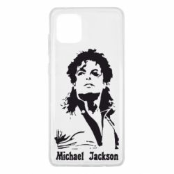 Чехол для Samsung Note 10 Lite Майкл Джексон