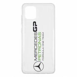 Чехол для Samsung Note 10 Lite Mercedes GP Vert