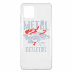 Чохол для Samsung Note 10 Lite Metal detector