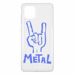 Чехол для Samsung Note 10 Lite Metal