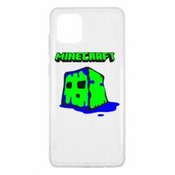 Чохол для Samsung Note 10 Lite Minecraft Head