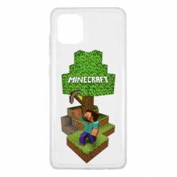 Чохол для Samsung Note 10 Lite Minecraft Steve