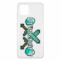 Чохол для Samsung Note 10 Lite Minecraft алмазний меч