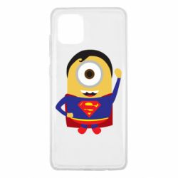 Чохол для Samsung Note 10 Lite Minion Superman