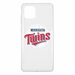 Чохол для Samsung Note 10 Lite Minnesota Twins