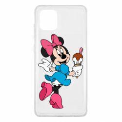 Чехол для Samsung Note 10 Lite Minnie Mouse and Ice Cream