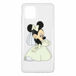 Чехол для Samsung Note 10 Lite Minnie Mouse Bride