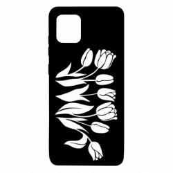 Чохол для Samsung Note 10 Lite Monochrome tulips