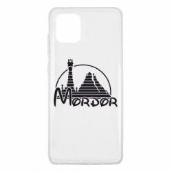 Чехол для Samsung Note 10 Lite Mordor (Властелин Колец)