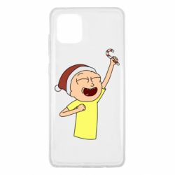 Чехол для Samsung Note 10 Lite Morty with Christmas candy