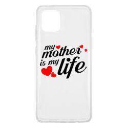 Чохол для Samsung Note 10 Lite Моя мати -  моє життя