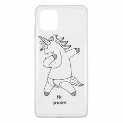 Чехол для Samsung Note 10 Lite Mr Unicorn