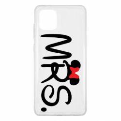 Чехол для Samsung Note 10 Lite Mrs.
