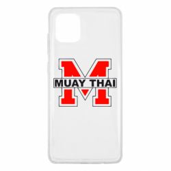 Чехол для Samsung Note 10 Lite Muay Thai Big M