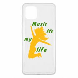 Чохол для Samsung Note 10 Lite Music it's my life