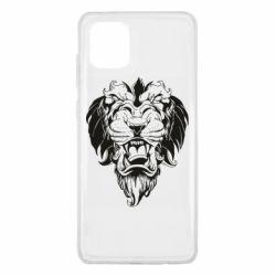 Чехол для Samsung Note 10 Lite Muzzle of a lion