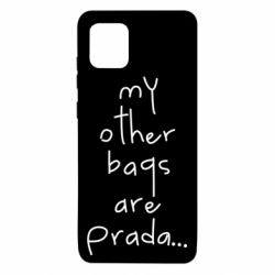 Чохол для Samsung Note 10 Lite My other bags are prada