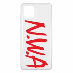 Чехол для Samsung Note 10 Lite N.W.A Logo