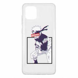 Чехол для Samsung Note 10 Lite Naruto Hokage glitch