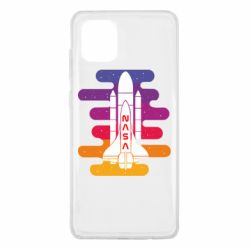 Чохол для Samsung Note 10 Lite NASA rocket in space