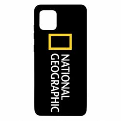 Чехол для Samsung Note 10 Lite National Geographic logo