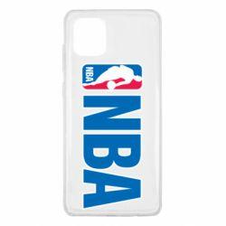 Чехол для Samsung Note 10 Lite NBA Logo