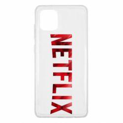 Чехол для Samsung Note 10 Lite Netflix logo text
