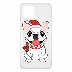 Чехол для Samsung Note 10 Lite New Year's French Bulldog
