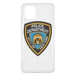 Чехол для Samsung Note 10 Lite New York Police Department