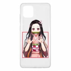 Чохол для Samsung Note 10 Lite Nezuko