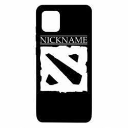 Чехол для Samsung Note 10 Lite Nickname Dota