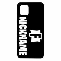 Чехол для Samsung Note 10 Lite Nickname fortnite
