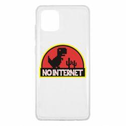 Чехол для Samsung Note 10 Lite No internet jurassic world