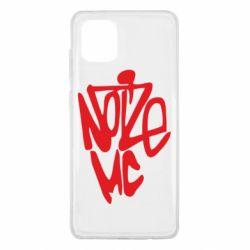 Чохол для Samsung Note 10 Lite Noize MC