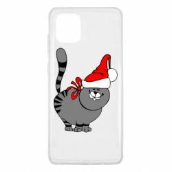 Чохол для Samsung Note 10 Lite Новорічний коте