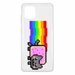 Чохол для Samsung Note 10 Lite Nyan cat